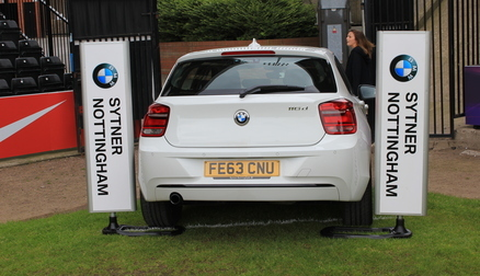 Win a BMW for the weekend in our half time competition