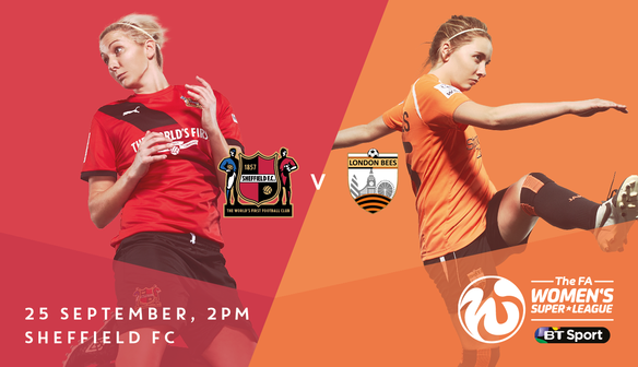 Preview: London Bees (H), Sunday 25 September 2016