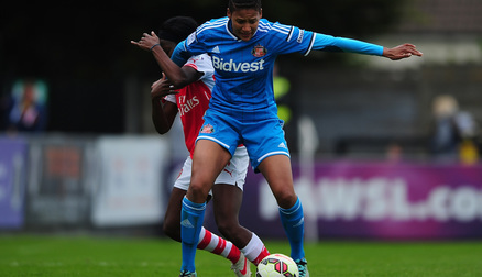 Victoria Williams against Arsenal