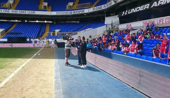 Dempster attends Premier League Finals Day!