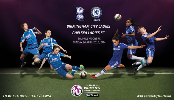 Chelsea and Laura Coombs wary of strong Birmingham