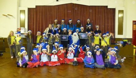 The Everton girls met a Merseyside Girl Guiding group.