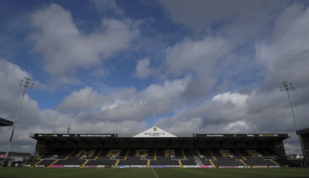The home of Notts County Ladies - Meadow Lane
