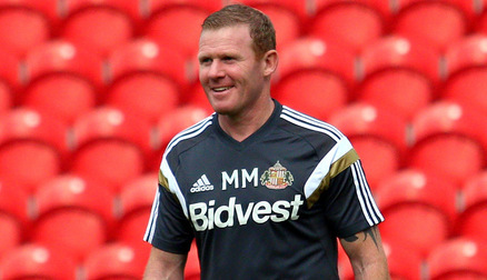 Team Manager Mick Mulhern