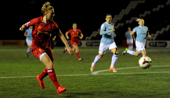 Apr 26 Liverpool Ladies FC v Manchester City Women