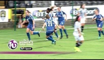 Notts County Ladies 0-1 Birmingham City Ladies