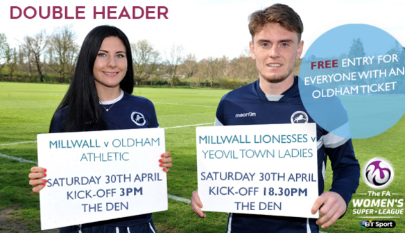 New Lioness Eager to play at The Den