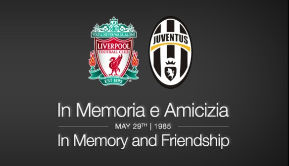 Liverpool Football Club mark 30th anniversary of Heysel