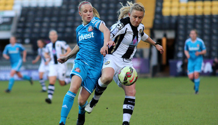 Beth Mead at Notts County