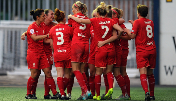 Aug 26 Liverpool Ladies FC 2 Sunderland AFC Ladies 0