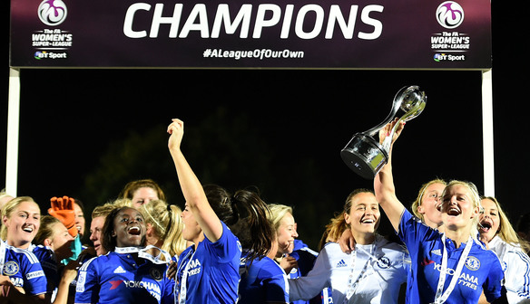 Boss Hayes: Chelsea had the hunger to win WSL 1 title