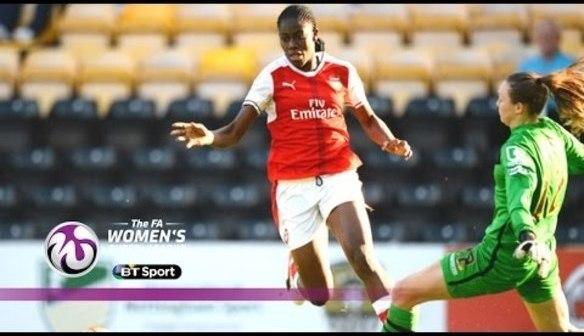 Notts County 0 - 2 Arsenal Ladies