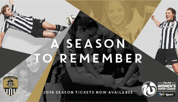 2016 Season Tickets Now on Sale