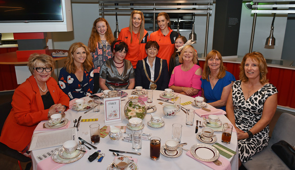 DS duo Beckwith & Revitt attend LDSA Ladies Day at Anfield