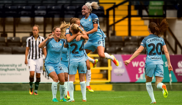 Jane Ross impressed by free-scoring Manchester City