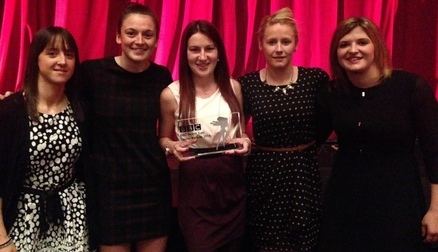SAFC Ladies BBC North East Team of the Year