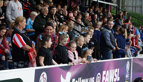 FA WSL stars inspiring north-east youngsters