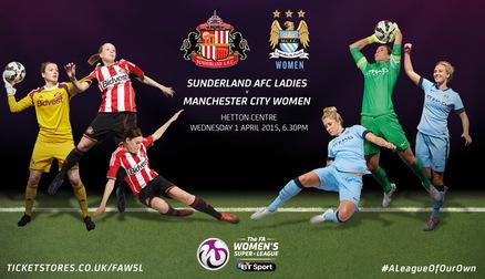 Sunderland v Manchester City Women