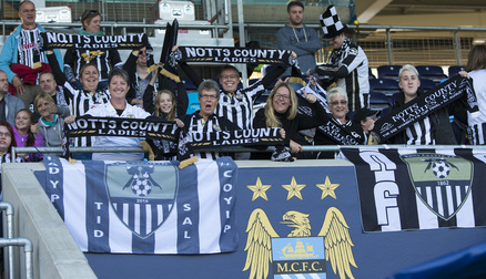 TheTravelling Fans at Man City