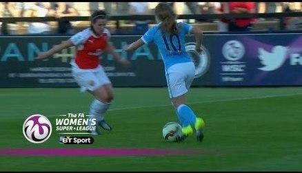 Arsenal Ladies 2-3 Manchester City Women