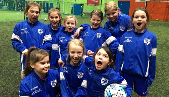 Bristol City Women confirm Whitchurch Girls FC as a Gold Sister Club
