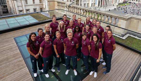 WATCH: ENGLAND WOMEN SET OFF FOR CANADA