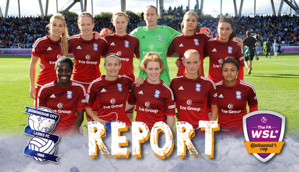 Report: Manchester City Women 1-0 Birmingham City Ladies