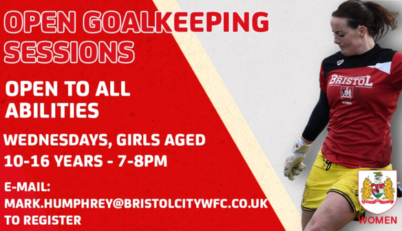 BCWFC Announce New Goalkeeping Sessions