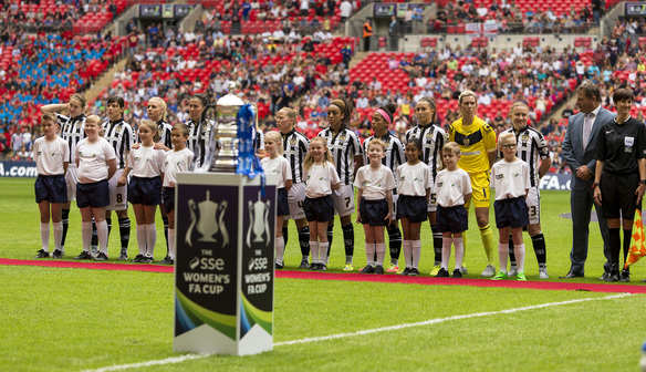 Lady Pies Miss Out in Wembley Show Piece