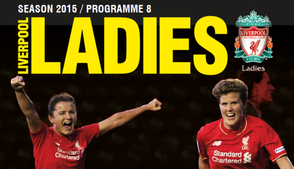 Get your matchday programme at Arsenal Ladies!