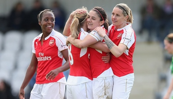 Arsenal Ladies announce May Soccer School Programme