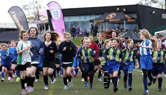 FA Girls' Football Festival a big hit!