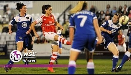 Arsenal Ladies 2 - 0 Bristol Academy