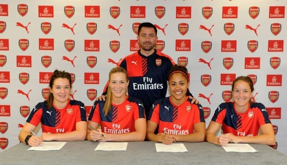 Four players sign new contracts