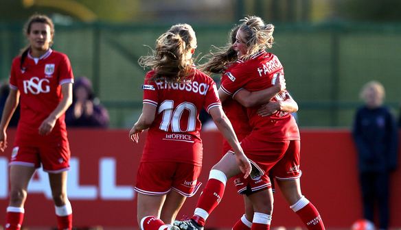 Report: Bristol City Women 2-0  Aston Villa Ladies