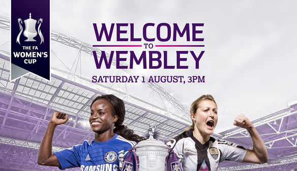 The FA Women?s Cup Final comes to Wembley Stadium