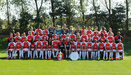 Official Joint Arsenal Team Photo