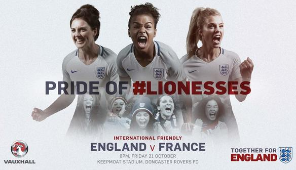 England Women Host France In Doncaster This Month