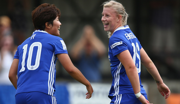 Beth England happy Chelsea's hard work is paying off