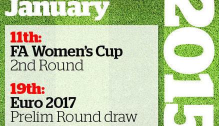 SheKicks 2015 Women's Football Calendar