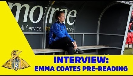 GAFFER TALK: Emma Coates - Pre-Reading