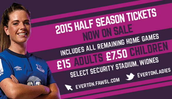 Buy Your Half Season Ticket Now