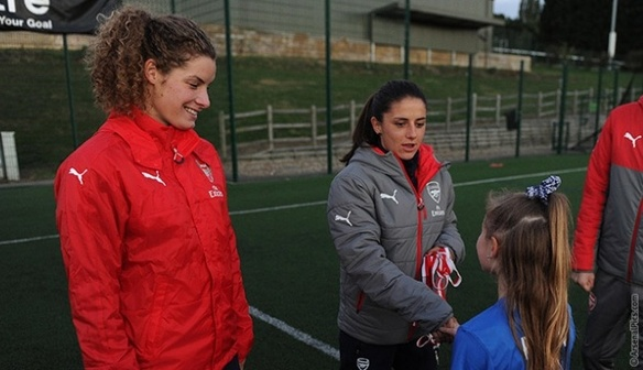 Ladies launch Girls' Football Week