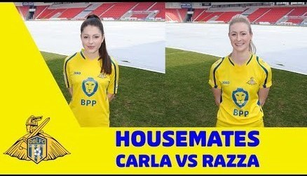 HOUSEMATES: Razza and Carla - Part 2!