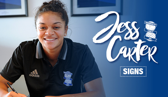 Jess Carter signs contract extension