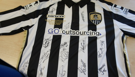 Your chance to own a signed FA Women's Cup Final shirt.