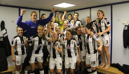 County make it through to the FAW Cup Final at Wembley!
