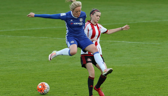 Gemma Davison delighted as Chelsea march on