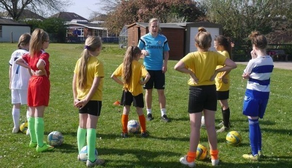Ladies Inspire Youngsters Ahead Of Big Home Game