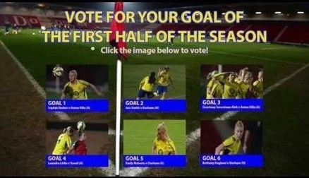 VOTE: For Your Goal From The First Half of the Season